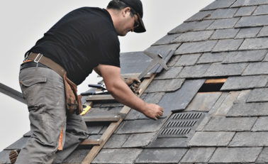 How to repair the roof whose shingles are blown off